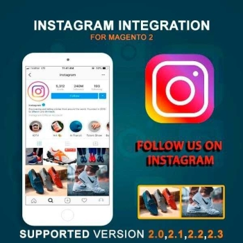 Magento 2 Instagram Integration Extension