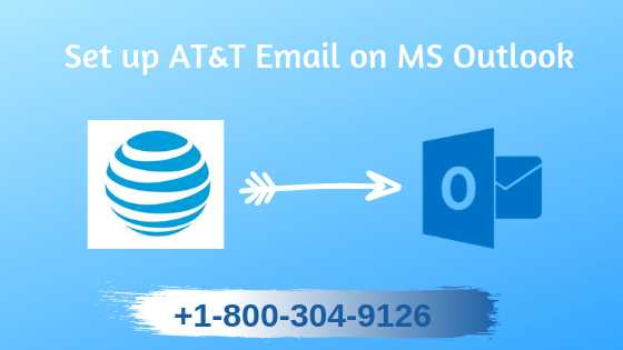Set up AT&T Email on MS Outlook