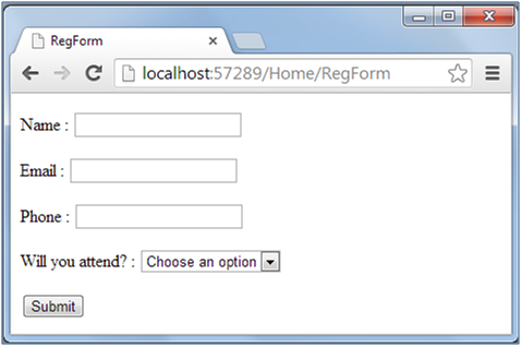 Creating A Simple Data Entry Application Using Asp Net Mvc 4