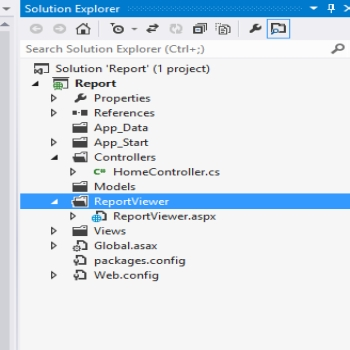 Combining ASP.Net MVC With SQL Server Reporting Services
