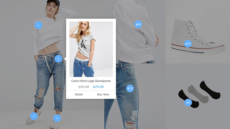 How to power  the cross-sell products With Lookbook Magento 2?