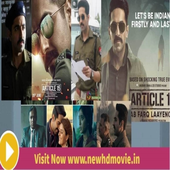 Article 15 Full Hindi  Movie in HD Quality