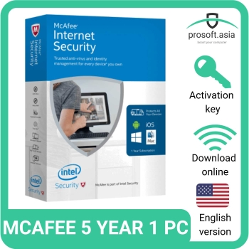 Upgrade your internet security with McAfee Antivirus products