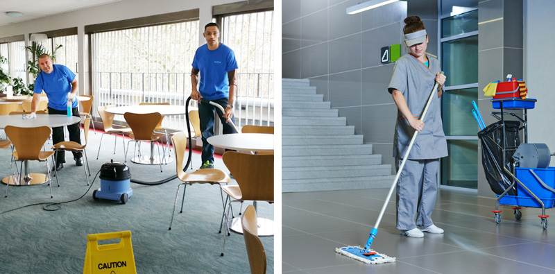 Commercial Cleaning Services Dubai | Tanziif