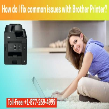 How do I fix common issues with Brother Printer?