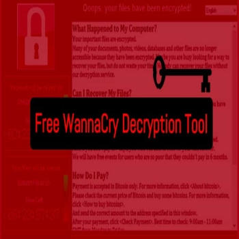 Cybersecurity: WannaKey, a Relief from WannaCry Ransomware