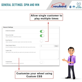 Magento Spin and win module: Engage your audience