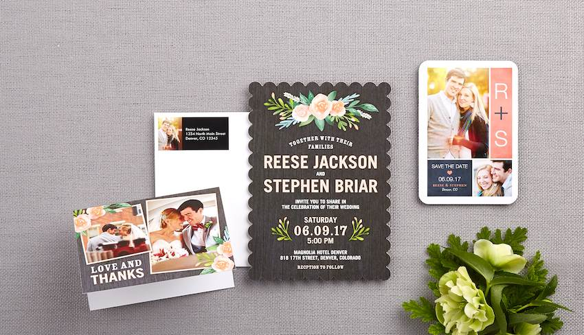 5 reasons why you need to get your wedding invites online.