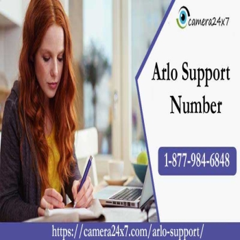Call +1-877-984-6848 Arlo Tech Support Phone Number