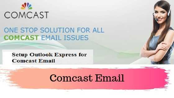 Setup Outlook Express for Comcast Email