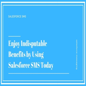 Enjoy Indisputable Benefits by Using Salesforce SMS Today