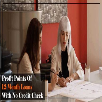 Profit Points of 12 Month Loans with No Credit Check