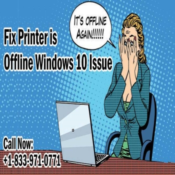Top 5 Steps to Fix Printer is Offline Windows 10 Issue