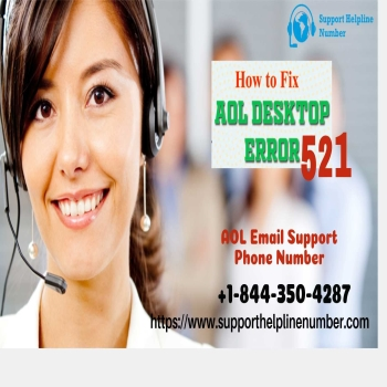Fix AOL Mail Error Code 521 via AOL Email Support Phone Number