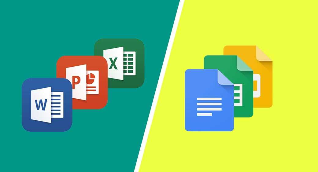 Office 365 vs Google Docs Features Comparison