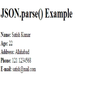 How to Use JSON
