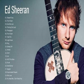 Ed Sheeran First Music Album