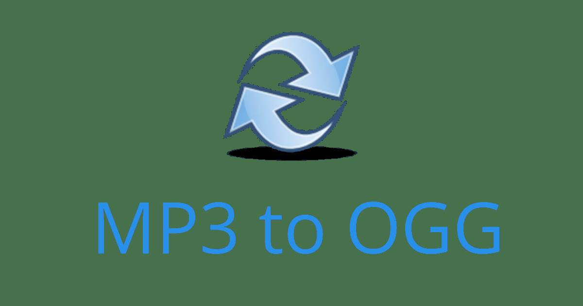 Best ways to convert MP3 to OGG