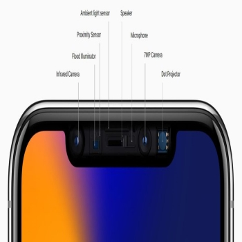 X Face id setting new parameters in mobile security