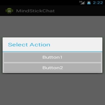 Add custom control on Dialog in android