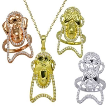 Exclusive: Loud Love Jewelry Company Launches Cheeky Monkey Baubles at Fivestory