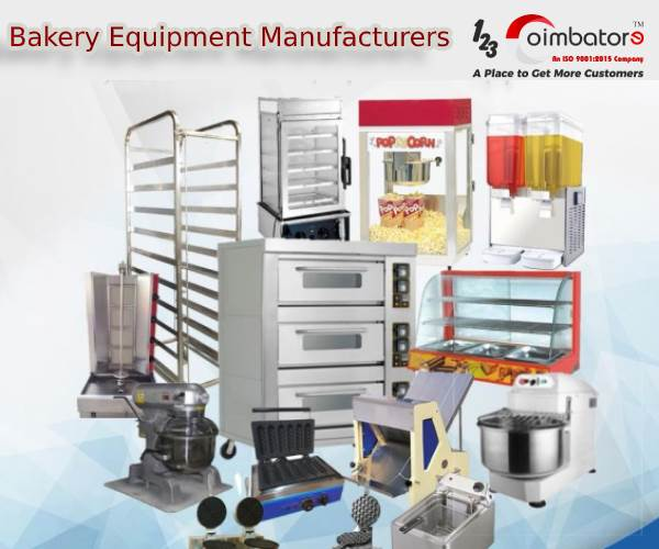 Bakery Equipment Machines Manufacturers, Suppliers