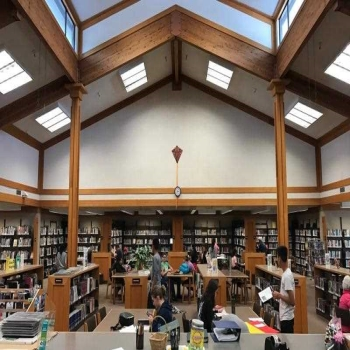 5 objects of a school library