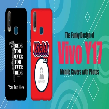 The Funky Design of Vivo Y17 Mobile Covers with Photos