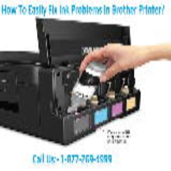 HOW TO EASILY FIX INK PROBLEMS IN BROTHER PRINTER?