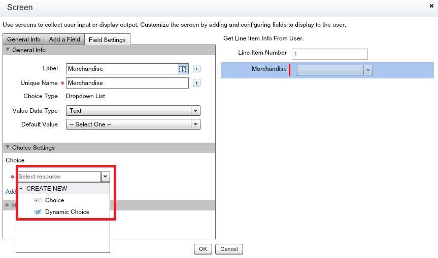 SFDC Flows: Add a Form screen
