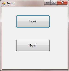 importing data into excel