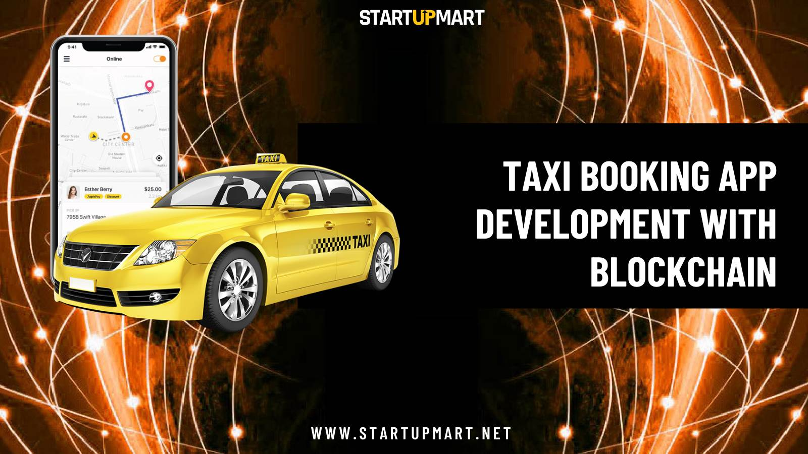 How Blockchain is Overcoming the Challenges in Aggregator Taxi Booking App Development?