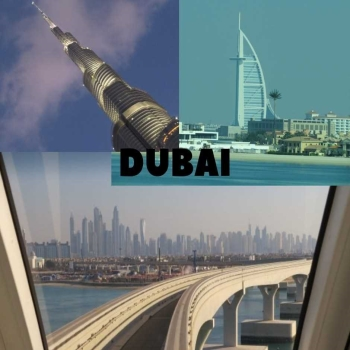 What is the best way to enjoy Dubai City tour without calling your friend?