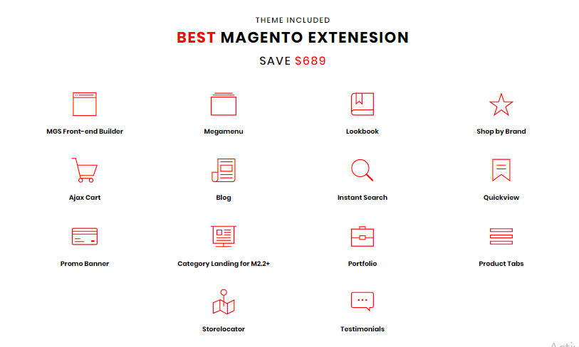 Ninth Optimal Magento 2 Theme with New Version of MGS Front-End Builder