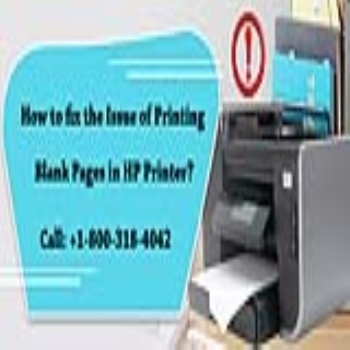 How to fix the Issue of Printing Blank Pages in HP Printer?