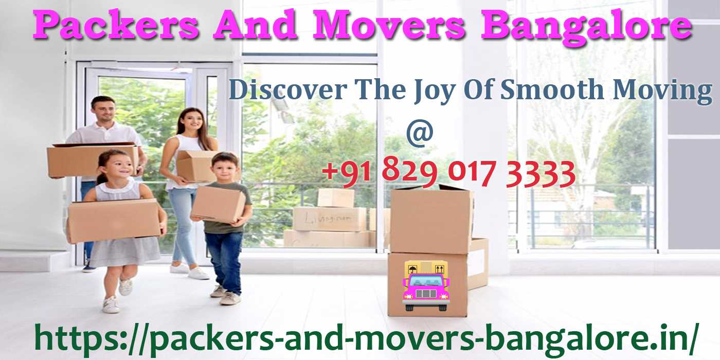 Packers And Movers Bangalore Local Packers And Movers Bangalore