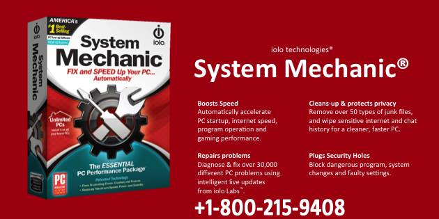 System Mechanic Support