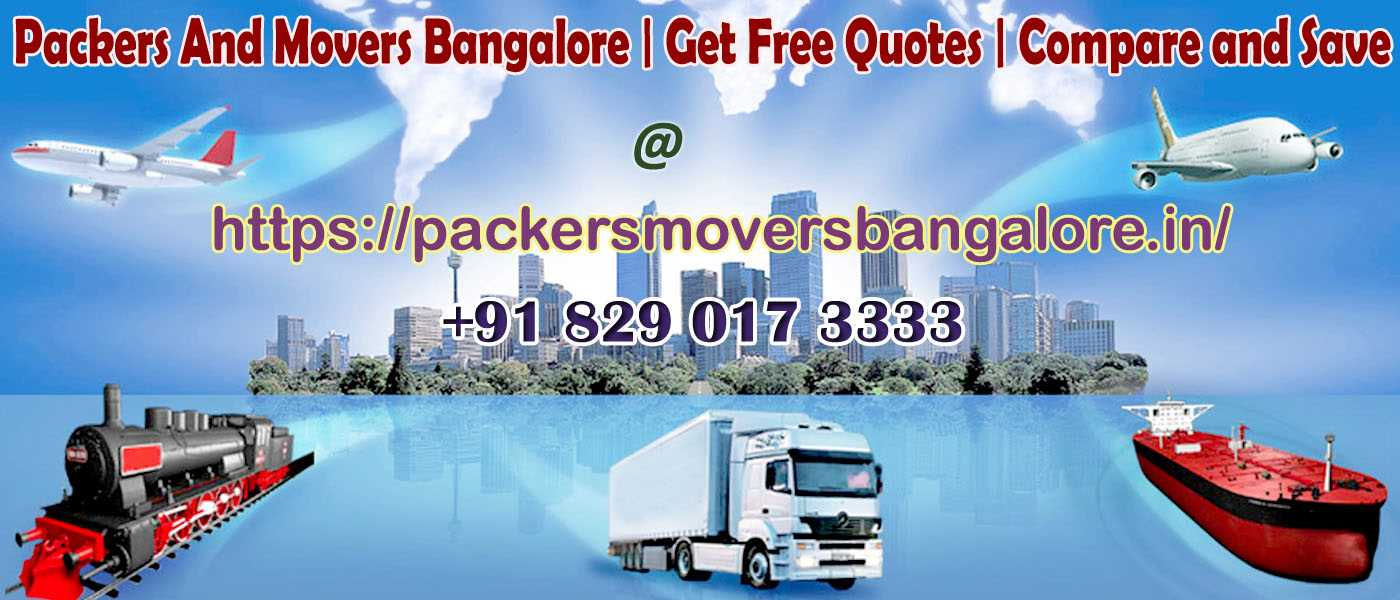 Packers and Movers Bangalore Packers and Movers Bangalore