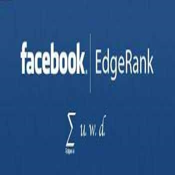 """Edgerank"" ALGORITHM on Facebook"