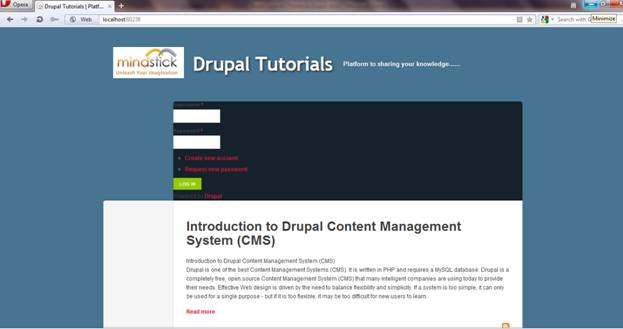 Build Custom Theme in Drupal