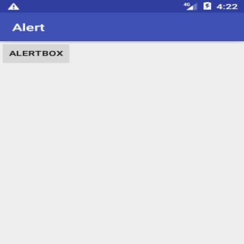 Alert Box in Android