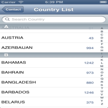 Implementing Sections in Country List in TableView