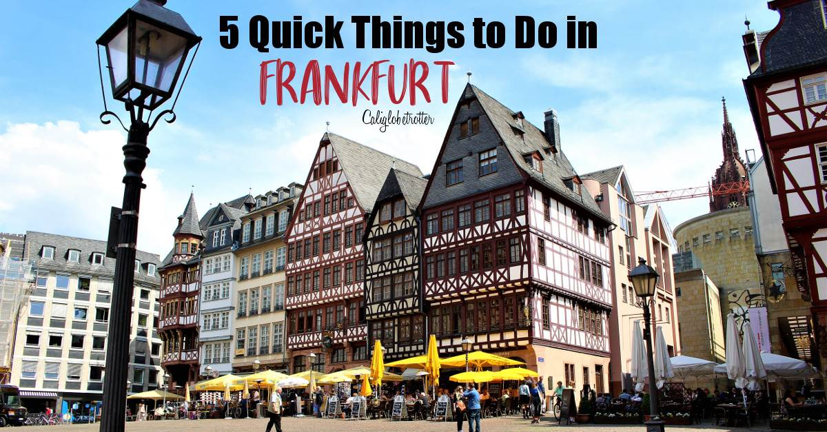 Enjoy 5 Splendid Things to do in Frankfurt for a Wholesome Vacation