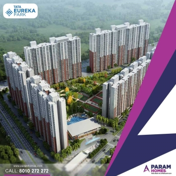 Tata Eureka 2 or 3 Bhk Flats in Noida- Live the smart life at Smart Homes
