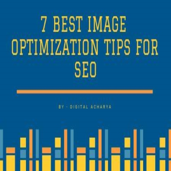 7 Best Image Optimization tips for SEO – Infographic