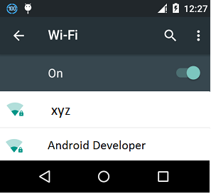 How to sign into a Wi-Fi network on Android
