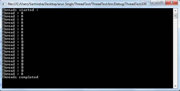 Threading in C# with Example