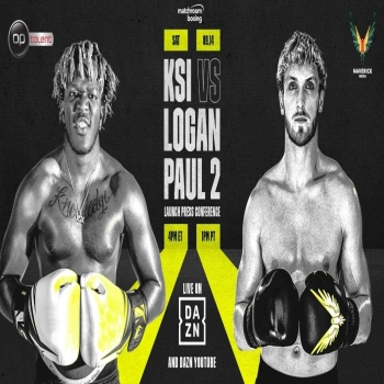 KSI vs Logan Paul 2