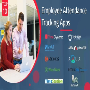 Top 10 Employee Attendance Tracking Apps
