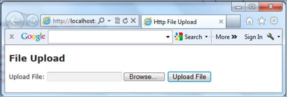 HTTP File Upload with ASP NET MVC 3